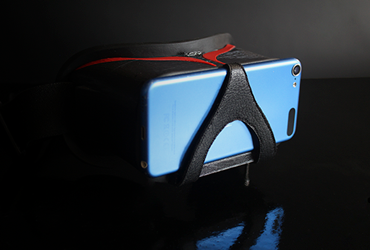 Sports VR headset with mobile phone