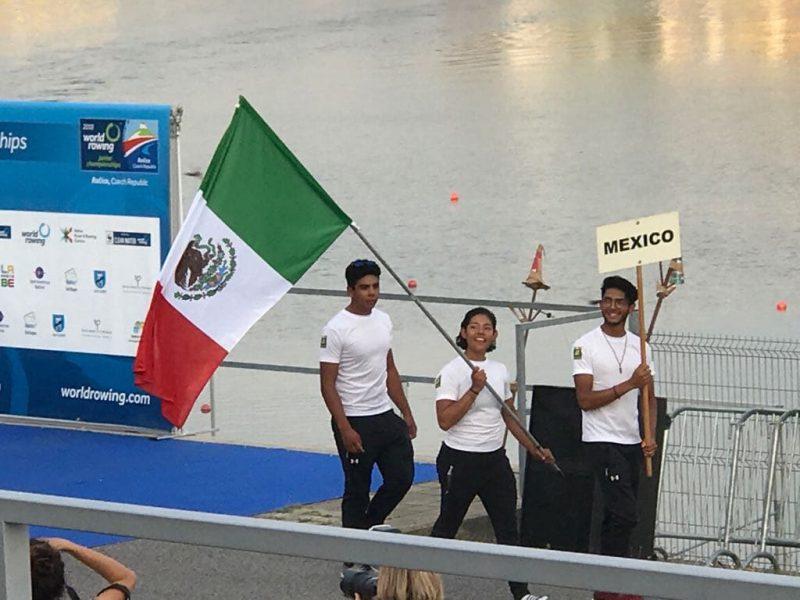 Remo Mexicano Rumbo a los Juegos Olímpicos de la Juventud 2018.